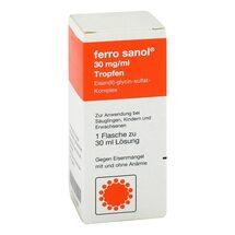 Produktbild Ferro Sanol Tropfen zum Einnehmen