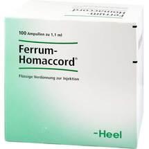 Produktbild Ferrum Homaccord Ampullen