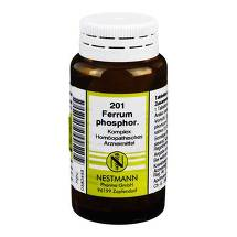 Produktbild Ferrum phosphoricum Komplex Nr. 201 Tabletten