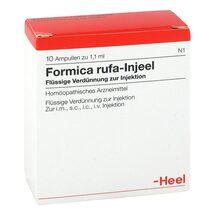 Produktbild Formica rufa Injeel Ampullen