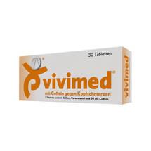 Vivimed mit Coffein gegen Kopfschmerz Tabletten