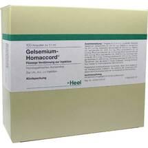 Produktbild Gelsemium Homaccord Ampullen