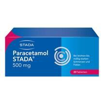 Produktbild Paracetamol STADA 500 mg Tabletten