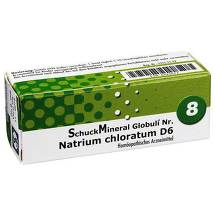 Schuckmineral Globuli 8 Natrium chloratum D6