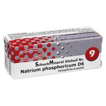 Schuckmineral Globuli 9 Natrium phosphoricum D6