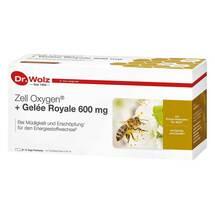 Produktbild Zell Oxygen + Gelee Royale 600 mg Trinkampullen
