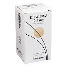 Produktbild Deacura 2,5 mg Tabletten