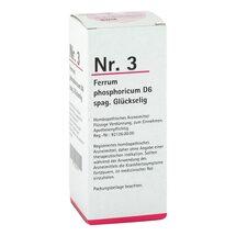 Produktbild NR.3 Ferrum phosphoricum D6 spag. Glückselig