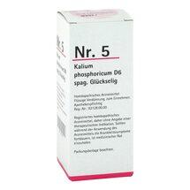 Produktbild NR.5 Kalium phosporicum D6 spag. Glückselig