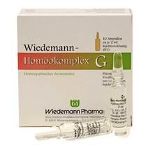Produktbild Wiedemann Homöokomplex G Ampullen