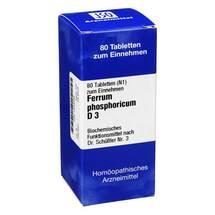 Produktbild Biochemie 3 Ferrum phosphoricum D 3 Tabletten