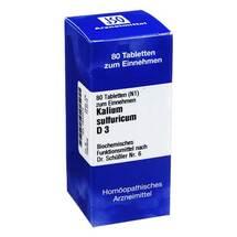 Produktbild Biochemie 6 Kalium sulfuricum D 3 Tabletten