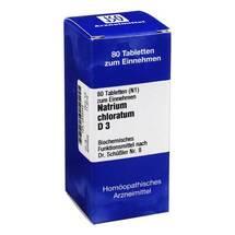 Produktbild Biochemie 8 Natrium chloratum D 3 Tabletten