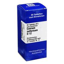 Produktbild Biochemie 12 Calcium sulfuricum D 12 Tabletten