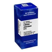 Produktbild Biochemie 16 Lithium chloratum D 6 Tabletten