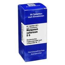 Produktbild Biochemie 17 Manganum sulfuricum D 6 Tabletten
