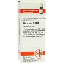Produktbild Moschus D 200 Globuli