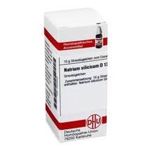 Produktbild Natrium silicicum D 12 Globuli