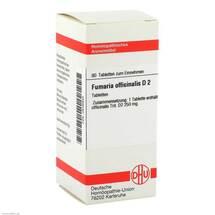 Produktbild Fumaria offic. D 2 Tabletten