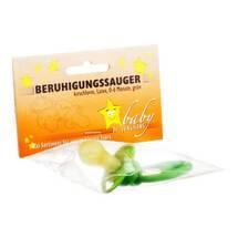 Produktbild Beruhigungssauger Kirschform Latex 0 - 6 M.grün