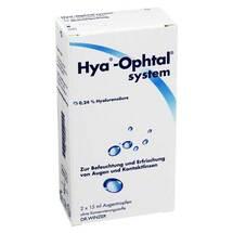 Produktbild Hya Ophtal system Augentropfen