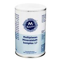 Produktbild Multiplasan Mineralstoffkompex 17 Tabletten