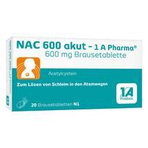 NAC 600 akut 1A Pharma Brausetabletten