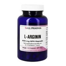 Produktbild L-Arginin 400 mg Kapseln