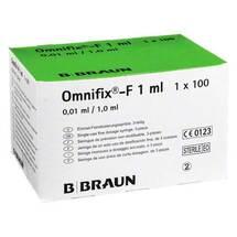Produktbild Omnifix F solo Spritzen
