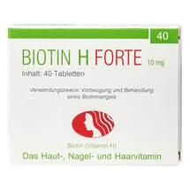 Produktbild Biotin H forte Tabletten