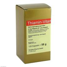 Produktbild Thiamin Kapseln Vitamin B1