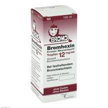Produktbild Bromhexin Krewel Meuselbach