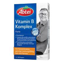 Produktbild Abtei Vitamin B Komplex forte überzogene Tabletten