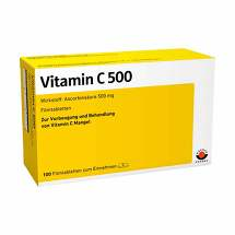 Produktbild Vitamin C 500 Filmtabletten