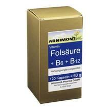Folsäure + B 6 + B 12 Kapseln