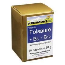 Produktbild Folsäure + B 6 + B 12 Kapseln