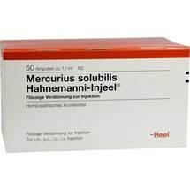 Produktbild Mercurius Solubilis Hahnemanni Injeel Ampullen