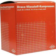 Produktbild Vliesstoff-Kompressen 10x10 cm steril 4fach