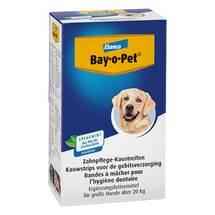 Bay O PET Zahnpflaster Kaustreifen für große Hunde