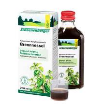 Produktbild Brennesselsaft Schoenenberger
