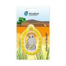 Produktbild Miradent Kinder-Lernzahnbürst.Infant-O-Brush gelb