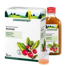 Produktbild Acerola Saft Schoenenberger