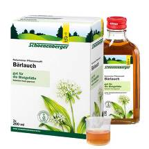 Produktbild Bärlauch Saft Schoenenberger