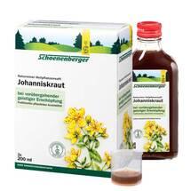 Produktbild Johanniskraut Saft Schoenenberger