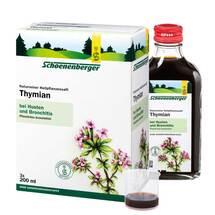 Produktbild Thymian Saft Schoenenberger Heilpflanzensäfte