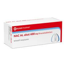 Produktbild NAC AL akut 600 mg Brausetabletten