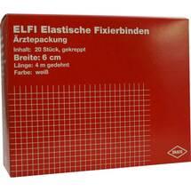 Dracoelfi elastisch Fixierbinde 6cmx4m gekreppt