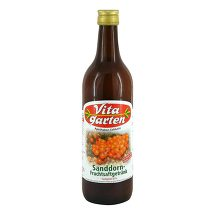 Vitagarten Sanddorn Fruchtsaft Getränk