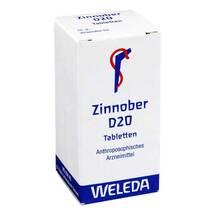 Produktbild Zinnober D 20 Tabletten