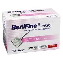 Produktbild Berlifine micro Kanülen 0,33x12,7 mm
